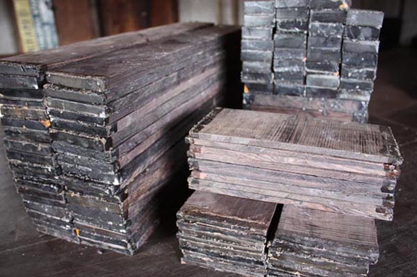 Fully processed FSC African blackwood